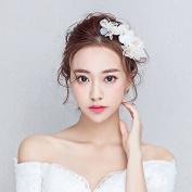 DELLT- Korean bride headdress white flowers wedding accessories wedding accessories studio photography photographer bridesmaid accessories