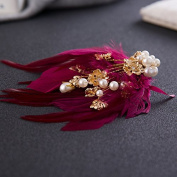 Women's Feathers Headdress Golden Branches for Party Banque / Special Occasion / Casual Fascinators /Engagement / Birthday / Gift / Party / Jewellery Accessories
