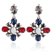 Earring Crystal Drop Earrings / Dangle Earrings Jewellery Women Wedding / Party