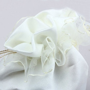 Satin Bag Sweet Bridal Wedding Dolly Bag Flower Girl Handbag Party Gift