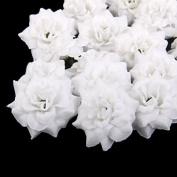 Approx.50pcs Artificial Rose Flower Heads Home Wedding Decor 4.5cm