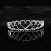Women Rhinestone Headpiece fashion Crown for Wedding /Engagement / Birthday / Gift / Party / Special Occasion Dress Jewellery Accessories