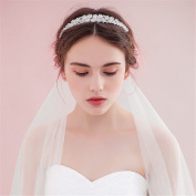 Women's Headpiece-Wedding Special Occasion Princess Hair Hoop Beaded Crystal Bride Crown for Party /Prom/Banquet/Gift dress Accessories