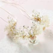 Women's Headpiece-Wedding Special Occasion Casual Fascinators Bride Headdress Get married Crown Wedding dress Accessories