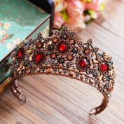 European-style retro Baroque bride crown ornaments