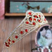European bride grand crown luxury diamond ornaments