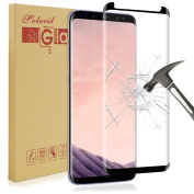 Galaxy S8 Screen Protector,Solocil Anti-Scratch ,No Lifted Edges, Crystal Clear Tempered Glass Screen Protector for Samsung Galaxy S8