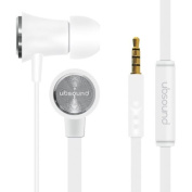 UBSOUND Fighter High Quality Aluminium in-ear Earphones - White