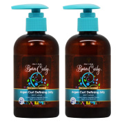 """As I Am Born Curly for Babies and Children Argan Curl Defining Jelly 240ml """"Pack of 5.1cm"""