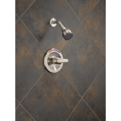Peerless Faucets Pressure Balance Core Shower Trim with Single Lever Handle