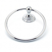R. Christensen Simple Serenity Wall Mounted Towel Ring