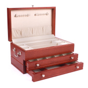 American Chest Corporation American Chest First Lady Solid Wood Jewellery Box