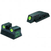Meprolight 10662 Tru-Dot NS Fixed Set Beretta 92F, Green Tritium Green Front/Rear