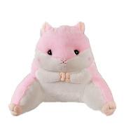 Kenmont Luxury Back Waist Support Pillow Cute Animal Sofa Bed Rest Reading Pillows Lumbar Cushion