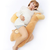 LUOTIANLANG The plush Alpaca shape pillow for pregnant women meets the ergonomic design of a multifunctional pillow with adjustable pillow for pregnancy and lactation