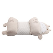 LUOTIANLANG Cotton baby pillow monkey rabbit chicken pattern of neonatal pillow pillow head to prevent the deformation of high quality,Cotton cattle, 23*50cm