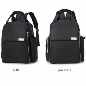 FJY Nappy Bag Nappy Backpack Large Capacity Waterproof Leisure Multifunction for Double Single Shoulder Hand Carry