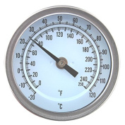 Home Brew Thermometer For Mashing - Boiler Mash Tun Easy to Read Temperature Gauge