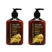 """Amir Argan Oil Moisturising Conditioner 350ml """"Pack of 5.1cm"""
