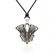 Gravity Metal Knight Armour Pendant Necklace