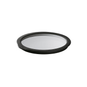 Rosle Glass Lid with Silicone, 8 cm