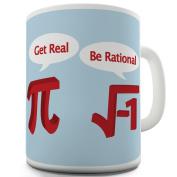 Twisted Envy Get Real Ceramic Novelty Gift Mug
