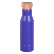 Ted Baker Water Bottle   Double Insulated   Leak-Proof   Stainless Steel  Electric Blue Sapphire   500ml