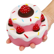Stress Relieve Toy, Tonsee Lovely Cake Decompression Toys Squishy Slow Rising Cream Scented