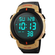 ZNSB 1068 Men's Woman Solar ElectronicWatches Outdoor Sports Waterproof Sports Electronic Watches 50 Metres Waterproof