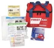 54555 First Aid Kit,Bulk,Red,32 Pcs,25 People