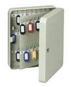 MAUL Wall Mounted Key Cabinet, 90 Keys, 30x24,5x8cm, Grey