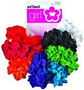Scunci Girl Hair Scrunchies, Assorted 8 ea