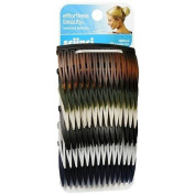 Scunci Effortless Beauty Side Hair Combs Assorted 12.0 ea.