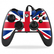 MightySkins Protective Vinyl Skin Decal for PowerA Pro Ex Xbox One Controller case wrap cover sticker skins British Pride