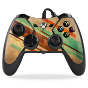 MightySkins Protective Vinyl Skin Decal for PowerA Pro Ex Xbox One Controller case wrap cover sticker skins Abstract Wood