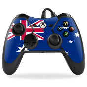 MightySkins Protective Vinyl Skin Decal for PowerA Pro Ex Xbox One Controller case wrap cover sticker skins Australian Flag