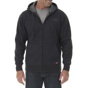 Dickies Men's Full Zip Thermal Hoodie with Warm Sherpa Lining