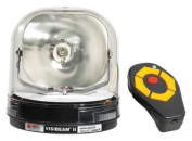 FEDERAL SIGNAL 620201 Spotlight,Magnetic Mount,Clear,100W