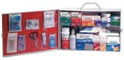 MEDI-FIRST 756M1SD First Aid Kit, Bulk, White, 22 Pcs, 100 Ppl
