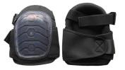 Westward 12F683 One Size Fits All Black Knee Pads