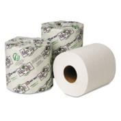 EcoSoft Green Seal Bath Tissue, 2-Ply, 48 Rolls/Carton