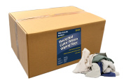 Pro-Clean Basics Recycled Colour Woven Wiping Rags, 23kg box