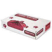 Jaguar Plastics Health Care Red 40 x 46 Bio-Hazard Printed Liners, 100 ct