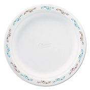 Chinet Moulded Fibre Dinnerware 20cm - 1.9cm Vines Theme Plates, White, 500 count