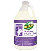 OdoBan BioOdor Digester, Eucalyptus Scent, 3.8lBottle, 4/Carton