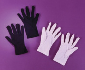 Theatrical Black Gloves Child Halloween Accessory