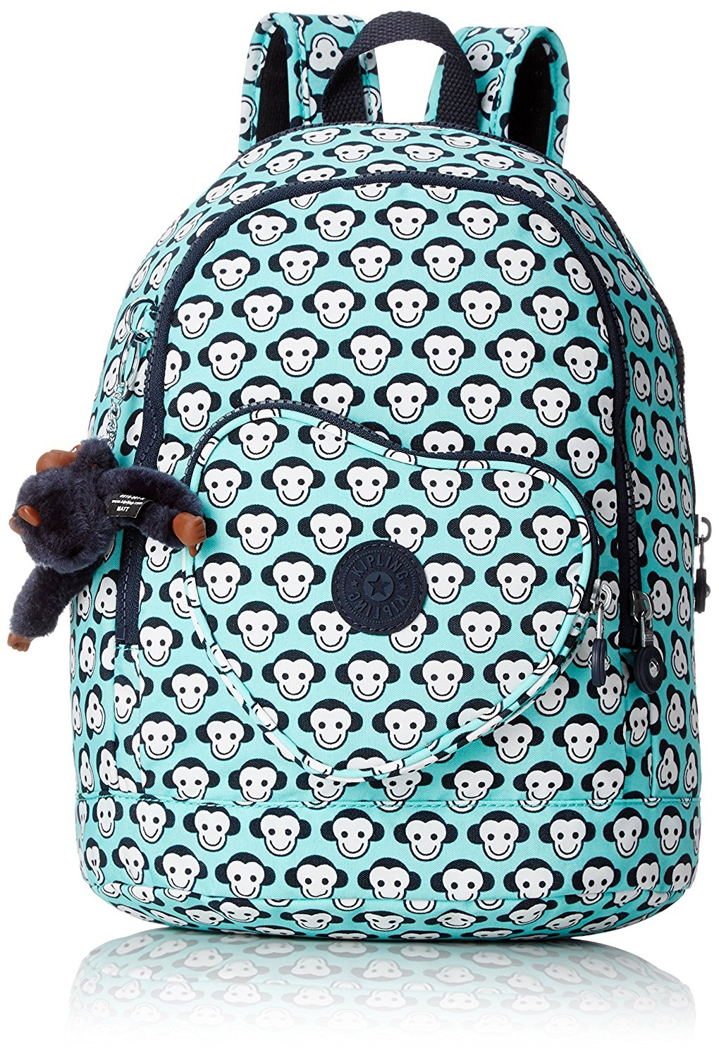 ae72d07aa8 Kipling - HEART BACKPACK - Kids Backpack - Toddlermonkey G - (Print ...