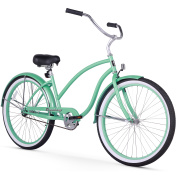 70cm Firmstrong Chief Lady Single Speed Beach Cruiser Women's Bicycle, Mint Green