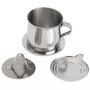 Dreammy Reusable Stainless Steel Coffee Drip Filter Maker Infuser Set New