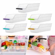 Storage Box Baokee Kitchen Refrigerator Space Saver Organiser Slide Shelf Rack Rack Holder Storage